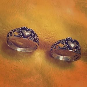 Heart Vine ring (925)